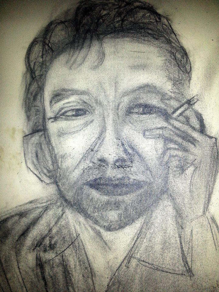 Serge Gainsbourg dans Portraits d'artistes et d'illustres inconnus 68489_308127199303305_1425044420_n