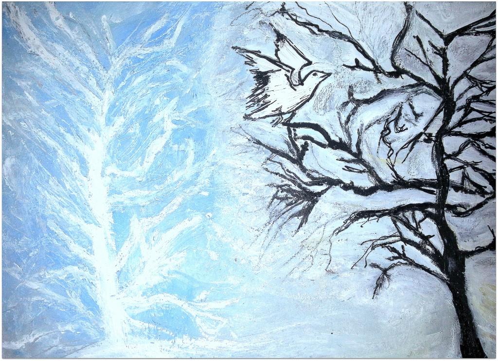 Eternel dans Peinture - Dessins hiver