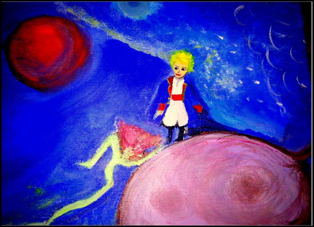 Mon petit univers dans Peinture - Dessins petit-prince