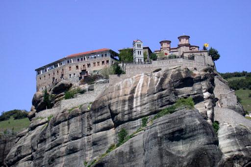 Monastère de Varlaam - Grèce dans Point de vue grece_meteores_varlaam